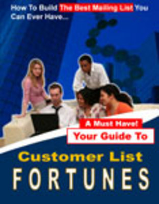 Product picture Customers List forune - build business marketing list fast