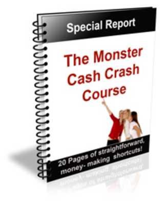 Product picture The Monster Cash Crash Course