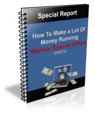 Product picture How to Make a Lot Of Money Running WSO