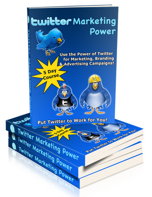 Product picture Twitter Marketing Power
