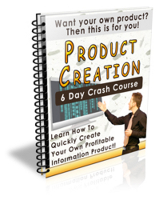 Product picture Product Creation Crash Course
